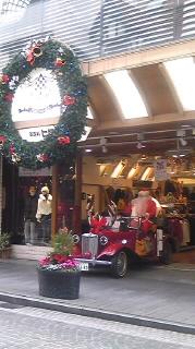 街はクリスマスに